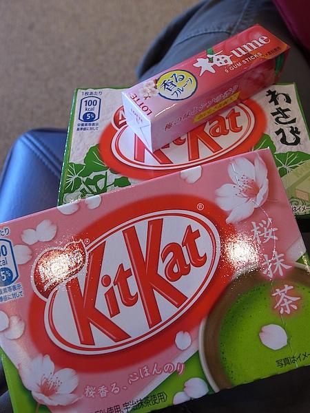 日本成田機場  零食