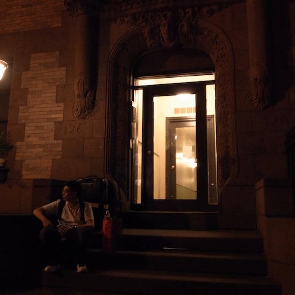 紐約民宿門口