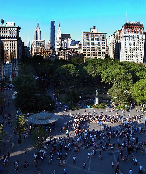 俯瞰union square