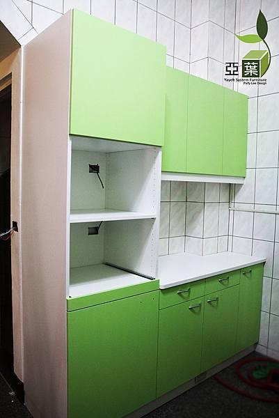 亞葉系統傢俱►台中清水別墅案►廚房