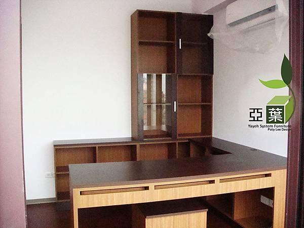 043亞葉系統傢俱►台中南區應小姐►書房