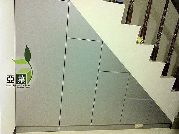 052亞葉系統傢俱►台中豐原鍾先生►樓梯