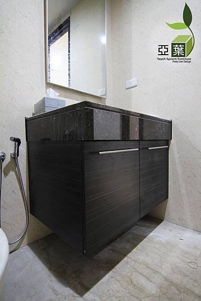 076亞葉系統傢俱►總太國美黃宅►男孩房浴室