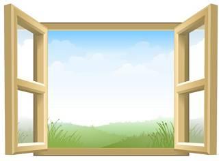 打開窗戶吧