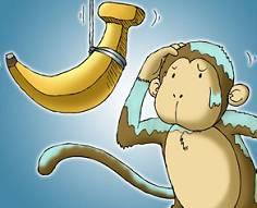 沒吃到香蕉的猴子