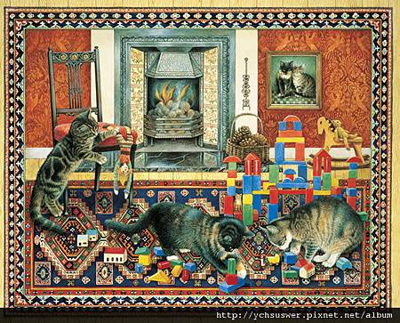 R14071-Cats-at-Play-Jigsaw-Puzzle-w