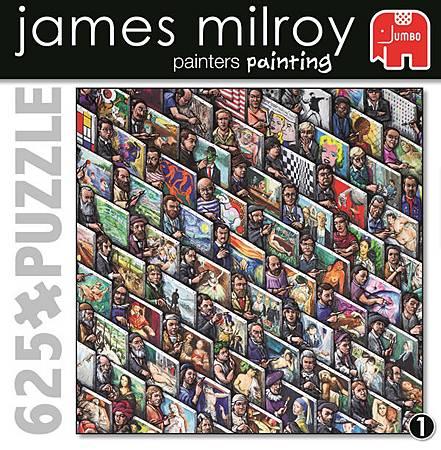 FJ11013-Painters Painting-James Milroy Jigsaw puzzle-w.jpg