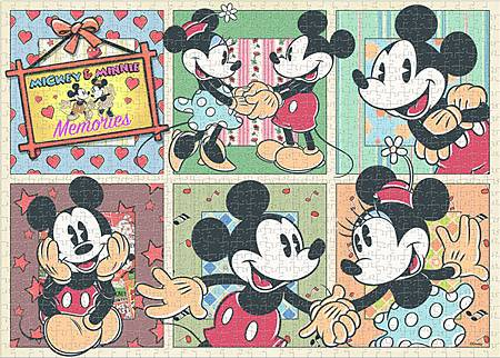 R19092-Mickey & Minnie Memories Jigsaw Puzzle-w.jpg