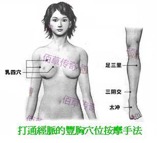 打通經脈的豐胸穴位按摩手法.JPG