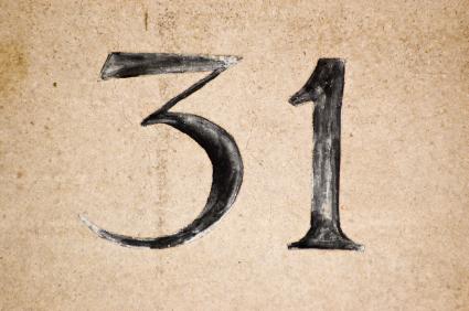 Number-31
