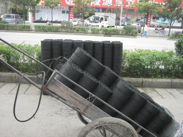 台灣四十年前所用的煤球