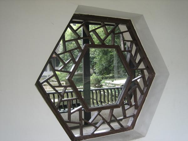 典雅的窗櫺