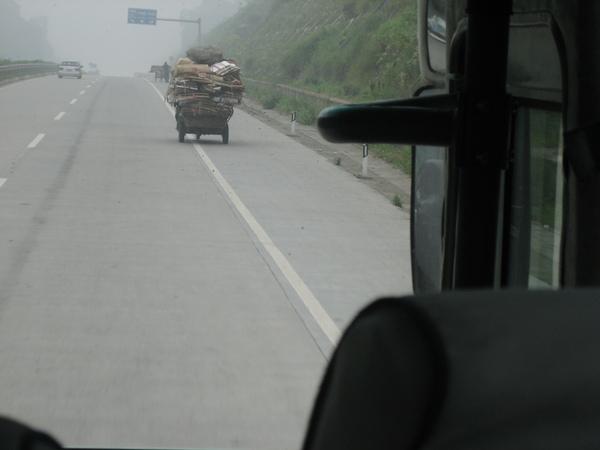 高速公路三輪車
