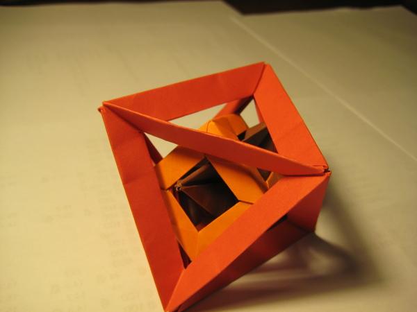 三角錐 + 正立方體  + 正八面體