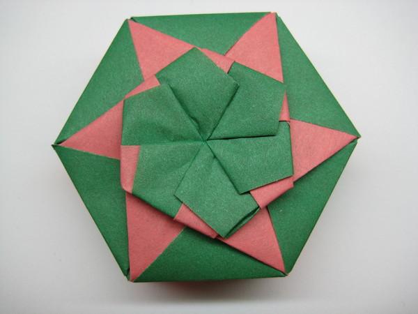 六邊形盒子(盒蓋)