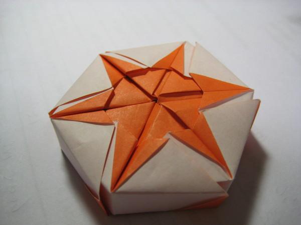 變形(六邊形盒子)