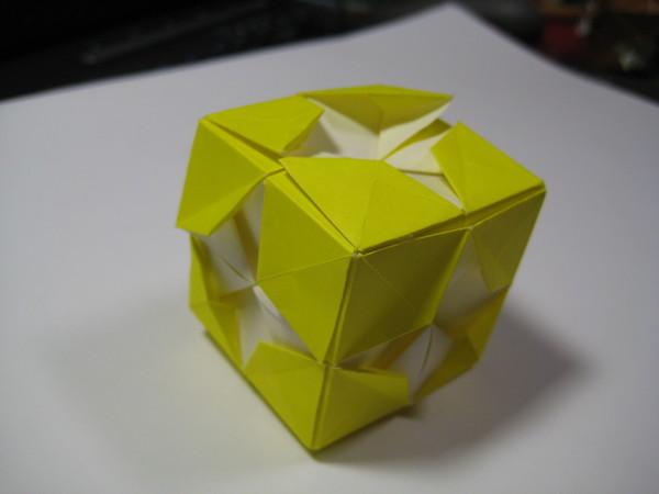 正立方體(變形二) 側寫