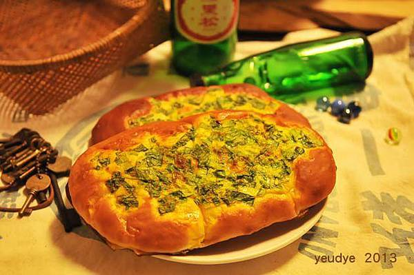 咖哩蔥麵包