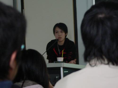 2006 in 華梵大學‧演講