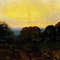 Twilight, The Vegetable Garden 1869