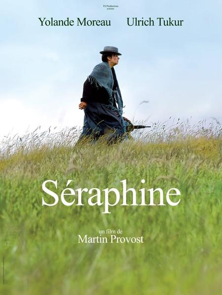 Séraphine「塞拉菲娜」(花落花開)海報