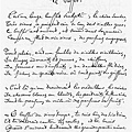 Arthur Rimbaud手稿-buffet