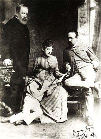 James Joyce - et Joyce en famille en 1888