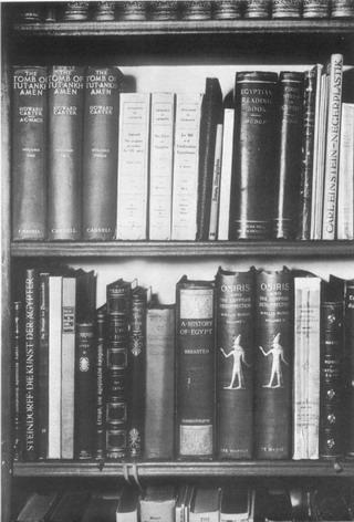 Sigmund Freud 佛洛依德 - 佛洛依德書架上的書