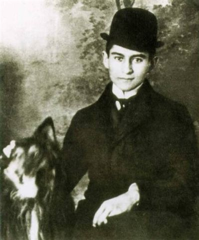 Kafka 卡夫卡(攝於1902~1908)