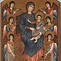 cimabue-莊嚴﹝Virgin Enthroned wi