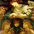 The Blessed Damozel-1875-78
