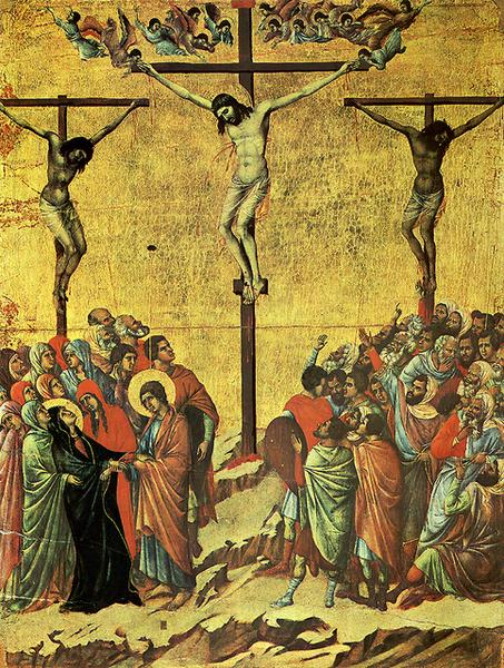 duccio-耶穌釘刑圖﹝Crucifixion﹞