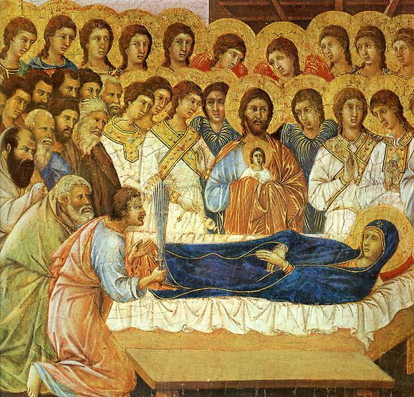 duccio-聖母之死﹝Death of the Virgi
