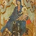 duccio-聖母與聖嬰以及三位教士和天使