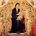 duccio-寶座聖母像﹝The Madonna in Ma