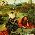 Hieronymus Bosch - San Giovalli Battista nel Deserto 荒野中的施洗者聖約翰(局部)