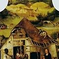 Hieronymus Bosch - Adoration of the Magi 賢士來朝(1510, 三聯畫中幅)
