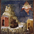 giotto-St Francis receives the