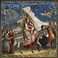 giotto-christ-聖家族逃往埃及