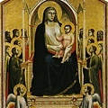 giotto-寶座聖母像﹝The Madonna in Ma