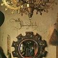 阿諾菲尼夫婦牆上的凸面鏡
