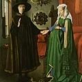 揚‧范‧艾克﹝Jan van Eyck﹞--阿諾菲尼夫婦﹝P