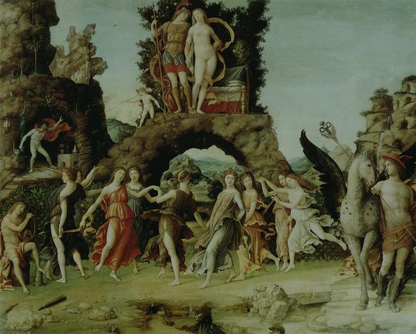 mantegna-帕那索斯﹝Parnassus﹞