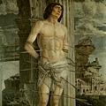 mantegna-聖賽巴斯帝安﹝St Sebastian﹞
