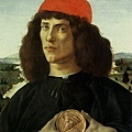 botticelli-持勛章的人﹝Portrait of a