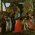 botticelli-賢士來朝﹝Adoration of t