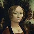 davinci-女子肖像﹝Portrait of Ginev