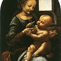 davinci-柏諾瓦的聖母﹝Madonna Benois﹞