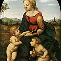 raphael-聖母子與施洗者約翰