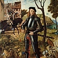 carpaccio-騎士肖像﹝Portrait of a K